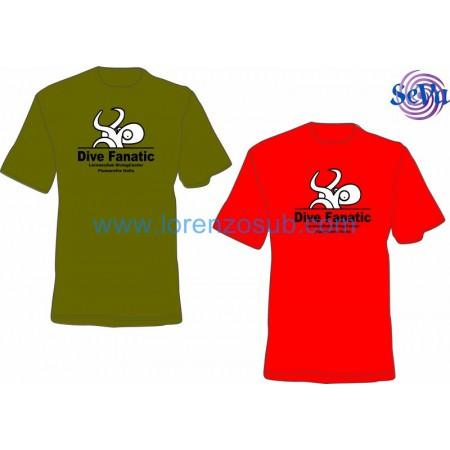 T-Shirt uomo DIVE FANATIC by Lorenzo Sub