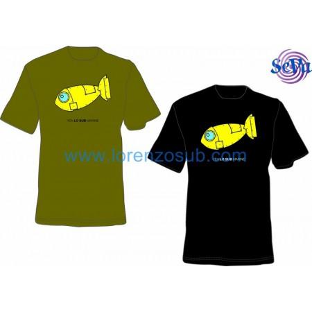 T-Shirt donna YEAlosubMARINE by Lorenzo Sub
