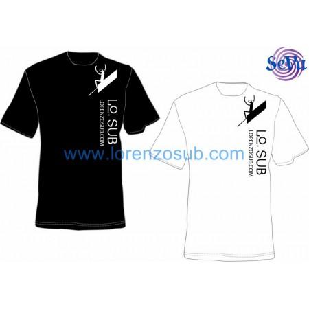 T-Shirt donna SCUBA ALIEN by Lorenzo Sub