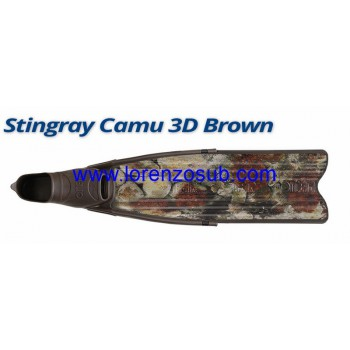 Omersub PINNA STINGRAY BROWN 3D