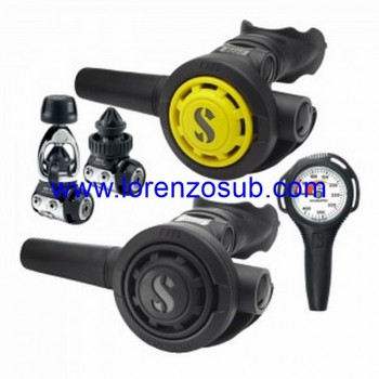 Scubapro PACKAGE MK11 DIN 300 R095 + OCTOPUS R095 + MANOMETRO COMPACT S